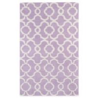 Kaleen Revolution Trellis 5-Foot x 7-Foot 9-Inch Area Rug in Lilac
