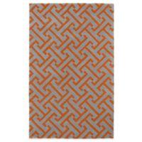Kaleen Revolution 8-Foot x 11-Foot Lines Area Rug in Grey