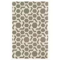 Kaleen Revolution 2-Foot x 3-Foot Accent Rug in Grey