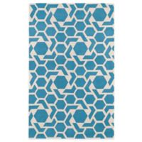 Kaleen Revolution 2-Foot x 3-Foot Accent Rug in Blue