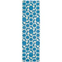 Kaleen Revolution 2-Foot 3-Inch x 8-Foot Area Rug in Blue