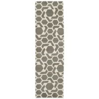 Kaleen Revolution 2-Foot 3-Inch x 8-Foot Area Rug in Grey