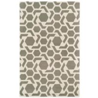 Kaleen Revolution 3-Foot x 5-Foot Area Rug in Grey