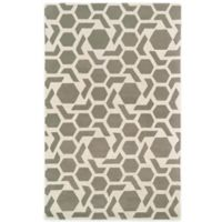 Kaleen Revolution 5-Foot x 7-Foot 9-Inch Area Rug in Grey