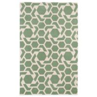 Kaleen Revolution 8-Foot x 11-Foot Area Rug in Mint