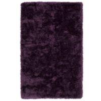 Kaleen Posh 3-Foot x 5-Foot Shag Area Rug in Purple