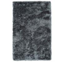 Kaleen Posh 5-Foot x 7-Foot Shag Area Rug in Grey