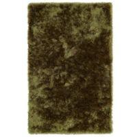 Kaleen Posh 5-Foot x 7-Foot Shag Area Rug in Olive