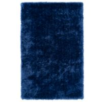 Kaleen Posh 5-Foot x 7-Foot Shag Area Rug in Blue