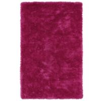 Kaleen Posh 5-Foot x 7-Foot Shag Area Rug in Pink