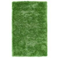 Kaleen Posh 8-Foot x 10-Foot Shag Area Rug in Lime Green