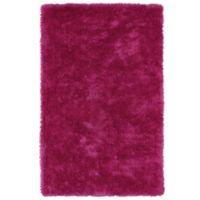 Kaleen Posh 8-Foot x 10-Foot Shag Area Rug in Pink