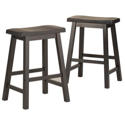 Saddle Seat 24 Counter Stool Steel Set Of 2 Ace Bayou Target