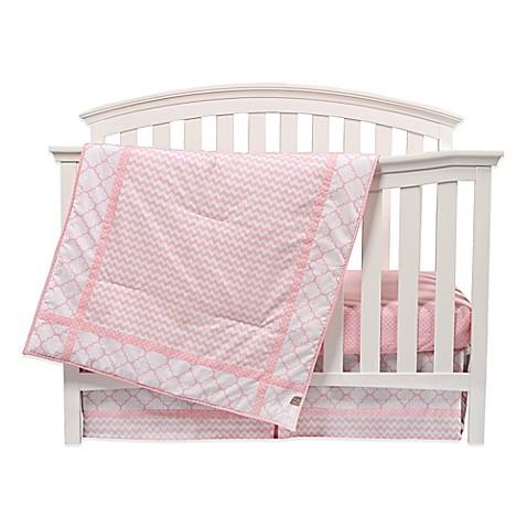 Pink Baby Crib Bedding