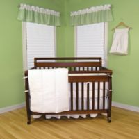Trend Lab® Pique 3-Piece Crib Bedding Set in White