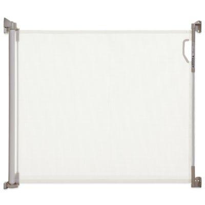 Dreambaby® Indoor/Outdoor Retractable Gate In White