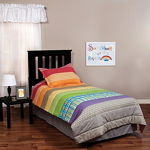 Trend Lab Rainbow Connection 2 Piece Twin Bedding Set Bed Bath Beyond