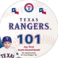 MLB Texas Rangers 101: My First Team-Board-Book™
