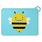 SKIP*HOP® Zoo Reusable Bee Fold & Go Silicone Placemat