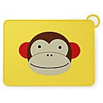 SKIP*HOP® Zoo Reusable Monkey Fold & Go Silicone Placemat