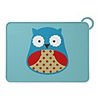 SKIP*HOP® Zoo Reusable Owl Fold & Go Silicone Placemat