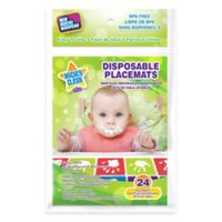 Mighty Clean Baby™ 24-Pack Disposable Placemats