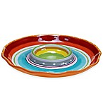 Certified International Mariachi Chip and Dip Tray in Multi