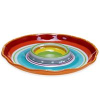 Mariachi Chip and Dip Tray in Multi