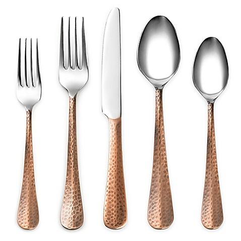 Cambridge® Silversmiths Indira Jessamine Copper Flatware Collection