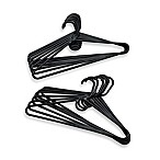 SALT™ 12-Pack Heavyweight Hangers in Black