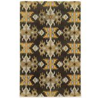 Tommy Bahama® Jamison Ikat Stripe 5-Foot x 8-Foot Area Rug in Brown