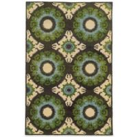 Tommy Bahama® Jamison Abstract 3-Foot 6-Inch x 5-Foot 6-Inch Area Rug in Blue