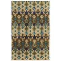 Tommy Bahama® Jamison Geometric 3-Foot 6-Inch x 5-Foot 6-Inch Area Rug in Brown