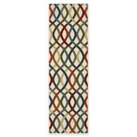 Mohawk Knottingham 2-Foot x 7-Foot Rug in Birch/Multicolor