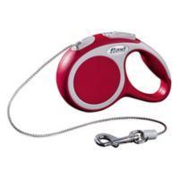 Vario 10-Foot Extra Small Retractable Leash In Red