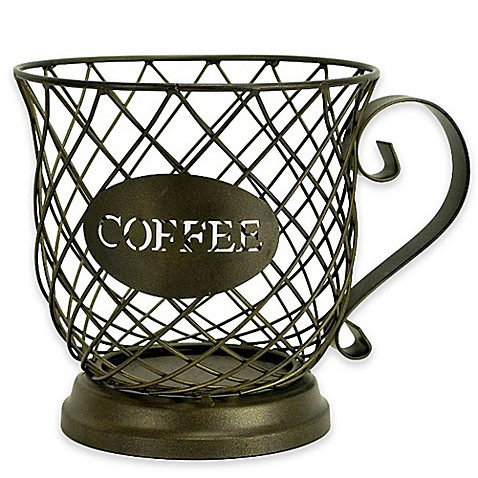 Boston Warehouse 174 Metal Coffee Cup K Cup Holder Bed Bath
