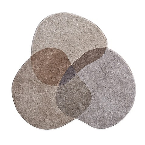 grund shambala 4 foot round bath rug in brown buybuy baby. Black Bedroom Furniture Sets. Home Design Ideas