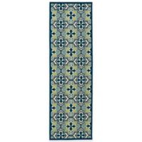 Kaleen A Breath of Fresh Air Tile Indoor/Outdoor Rug
