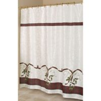 "Lenox® Holiday Nouveau 70"" x 72"" Fabric Shower Curtain"