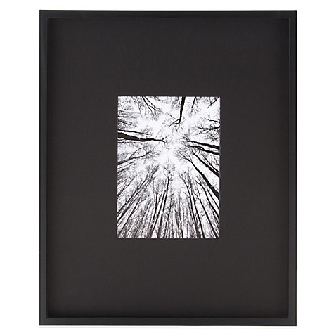 image of Real Simple® 5-Inch x 7-Inch Portrait Wall Frame in Black