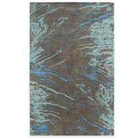 Kaleen Brushstrokes Marble 2-Foot x 3-Foot Accent Rug in Chocolate