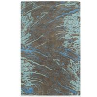 Kaleen Brushstrokes Marble 8-Inch x 11-Foot Area Rug in Chocolate