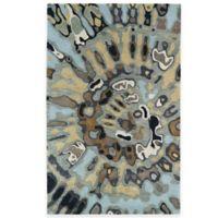 Kaleen Brushstrokes Swirl 8-Foot x 11-Foot Area Rug in Multicolor