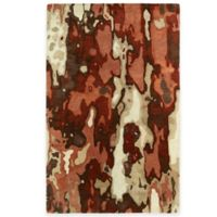 Kaleen Brushstrokes Tribal 5-Foot x 7-Foot 9-Inch Area Rug in Rust