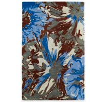 Kaleen Brushstrokes Floral 5-Foot x 7-Foot 9-Inch Area Rug in Multicolor