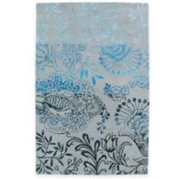 Kaleen Divine Floral 5-Foot x 7-Foot 9-Inch Area Rug in Ice
