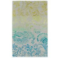 Kaleen Divine Floral 5-Foot x 7-Foot 9-Inch Area Rug in Breeze