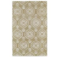 Kaleen Divine Coin Medallion 5-Foot x 7-Foot 9-Inch Area Rug in Light Brown