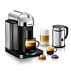 Nespresso® VertuoLine Coffee and Espresso Maker Bundle in Chrome