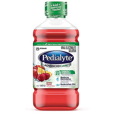 Pedialyte Medicine Cabinet